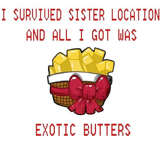 Ich überlebte Schwester Location und alles, was ich bekam, war exotische Butters von Sym  Bat