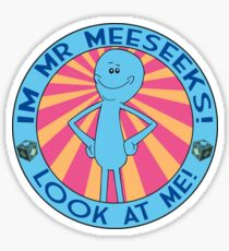 Mr Meeseeks Sticker