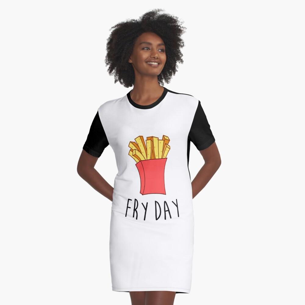 Frischer Tag T-Shirt Kleid