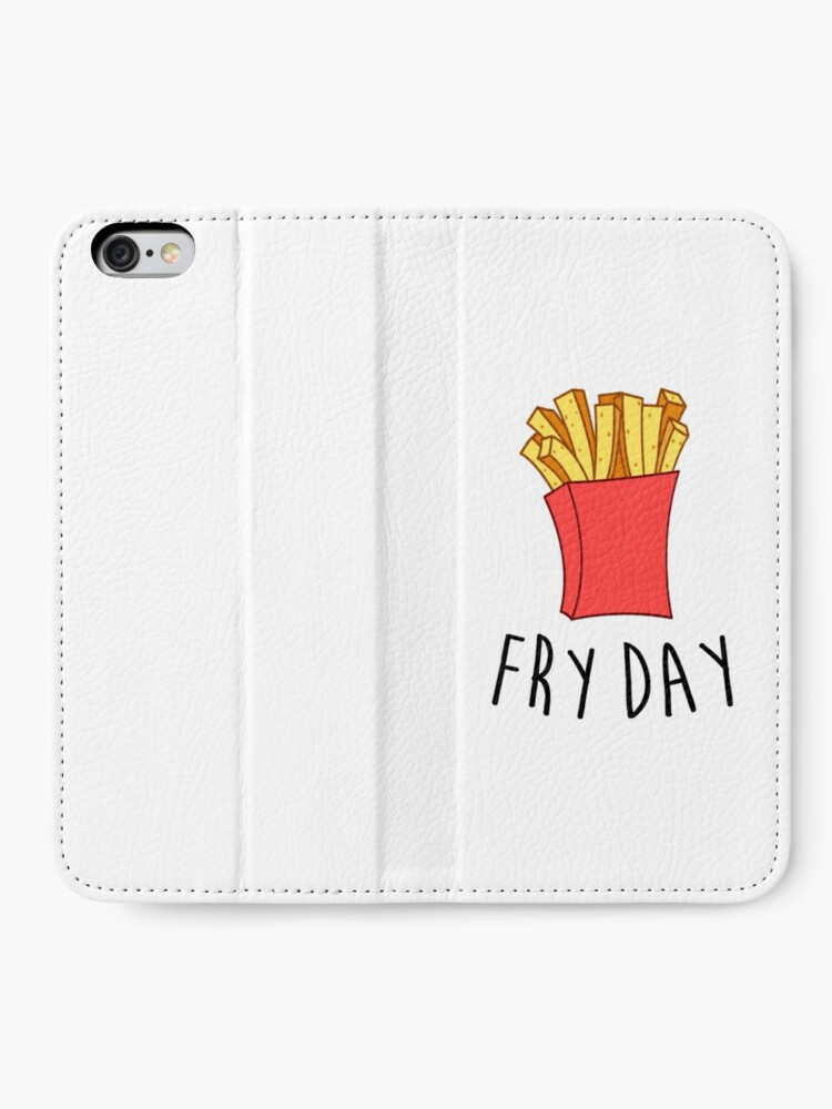 Alternative Ansicht von Frischer Tag iPhone Flip-Case