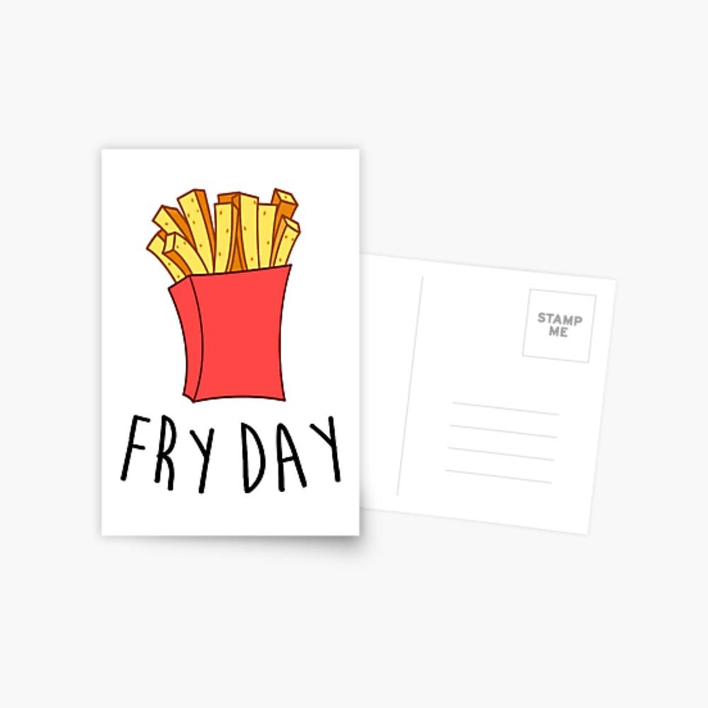 Frischer Tag Postkarte