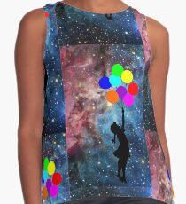 banksy ballon galaxy  Contrast Tank
