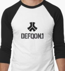 Defcon.1 Logo Men's Baseball ¾ T-Shirt