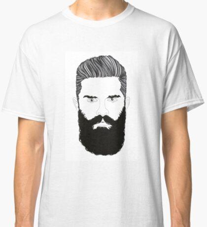 Bearded Man Classic T-Shirt
