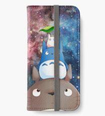 Totoro-Galaxie iPhone Flip-Case/Hülle/Skin