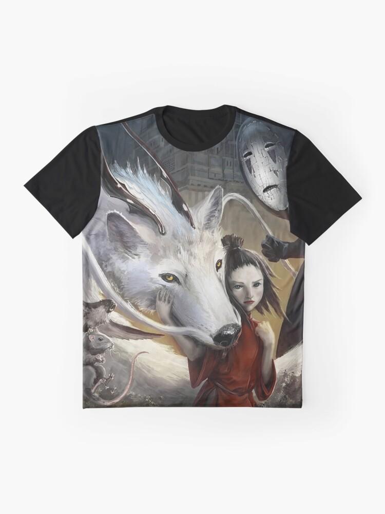 Alternative Ansicht von Chihiros Realistisch Grafik T-Shirt