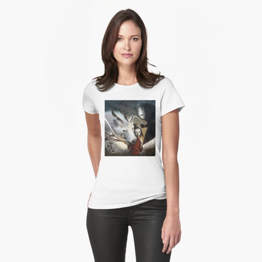 Chihiros Realistisch Tailliertes T-Shirt
