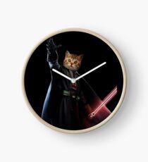 Cat Vader Starwars [TW] Clock