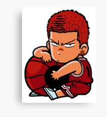 Tensai Basket Ball Man  Canvas Print