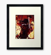 Alucard Framed Print