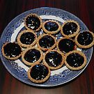 Oven Fresh Blackcurrant Jam Tarts by BlueMoonRose