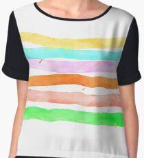 My Custom Rainbow Chiffon Top
