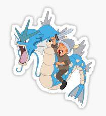 Gyarados pokemon Sticker