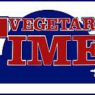 Vintage Vegetarian Times Magazine Logo by J. Stoneking