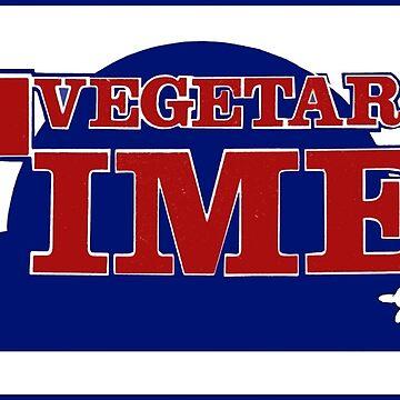 Vintage Vegetarian Times Magazine Logo by DamienOujia