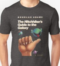 The Hitchhiker's Guide to the Galaxy - Cover Unisex T-Shirt