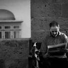 Morning News -- Barrakka Valletta Malta by Edwin  Catania