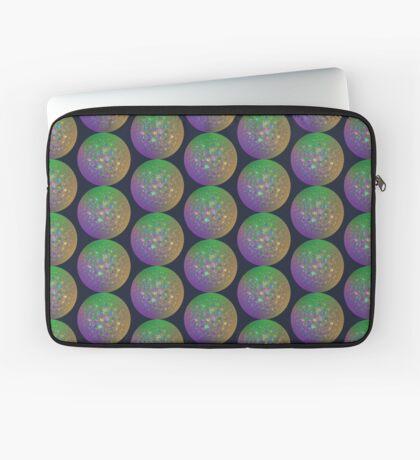 Planet Two #Fractal Art Laptop Sleeve