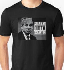 Prison Mike Straight Outta Scranton Unisex T-Shirt