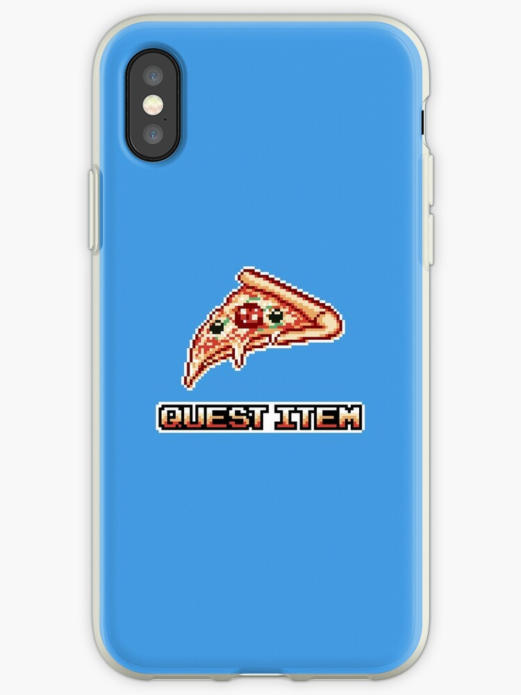 Pizza Is My Quest Item by Sascha Naderer