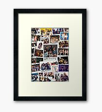 Fifth Harmony Vintage Shots Framed Print
