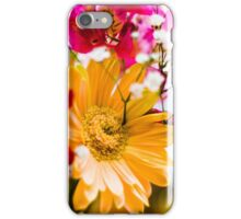 Flowers - Bold colors iPhone Case/Skin