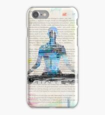 Lesson one, Concentration Yoga iPhone Case/Skin