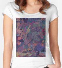 ZABA - Backdrop  Women's Fitted Scoop T-Shirt