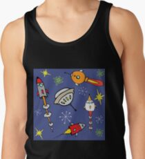 Space ships Tank Top