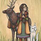 """Through the Dark Woods""  by NadiaTurner"