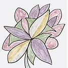 Carnivaled Flowers (a Bouquet of Pastel Colours) by KazM