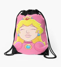 Princess Peach  Drawstring Bag
