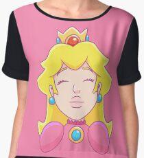 Princess Peach  Chiffon Top
