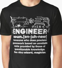 Funny Engineer Definition  Graphic T-Shirt