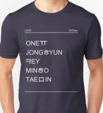 SHINee - Nohant Unisex T-Shirt