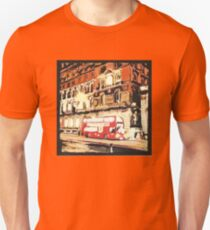London Bus at Night T-Shirt