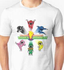 Mighty Morphin Cutesy Rangers Unisex T-Shirt
