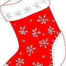 Christmas stocking by JJJDesign