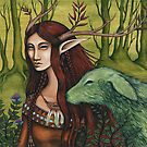 """GreenWood Fae"" by NadiaTurner"