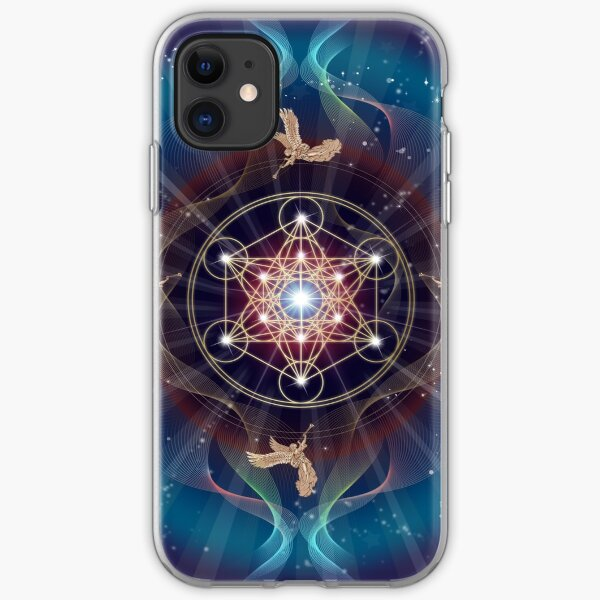 Starry Flower of Life iPhone 11 case
