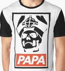 OBEY | Papa Emeritus III | Ghost B.C. Graphic T-Shirt