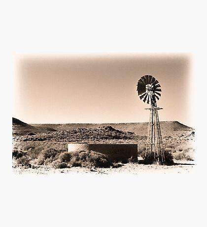 Dust 'n Wind Photographic Print