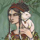 Isabella and Meeka by NadiaTurner