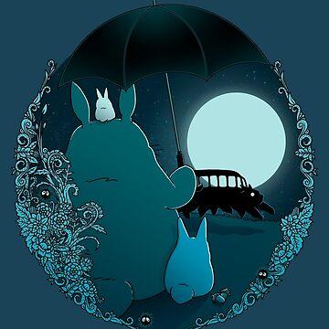 Spirits in the night by Nasken