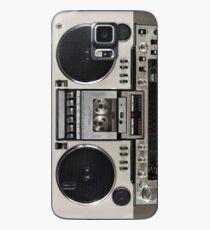 Vintage 80s Boombox Ghettoblaster Hülle & Klebefolie für Samsung Galaxy