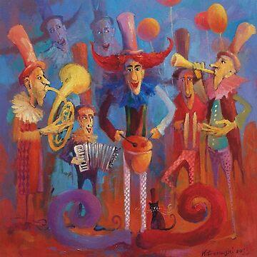 Musicians by klozowski