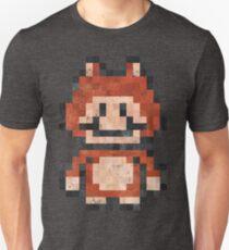 Super Mario Raccoon Vintage Pixels T-Shirt