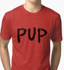 PUP Graffiti Logo Tri-blend T-Shirt