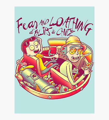 Fear and Loathing at Blips & Chitz Photographic Print