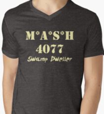 MASH 4077 Swamp Dweller - Pale Men's V-Neck T-Shirt